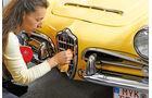 Oldtimer ausmotten, Alfa Romeo Giulia, Kühlergrill