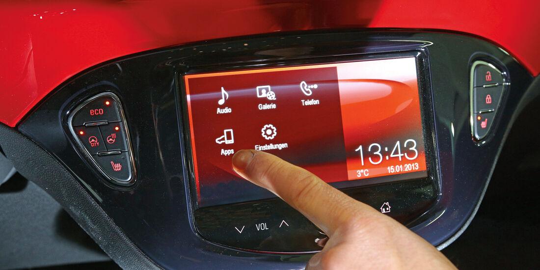 Opel Adam 1.4, Display