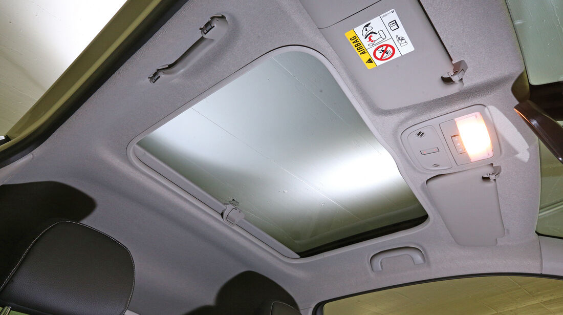 Opel Adam, Glasdach