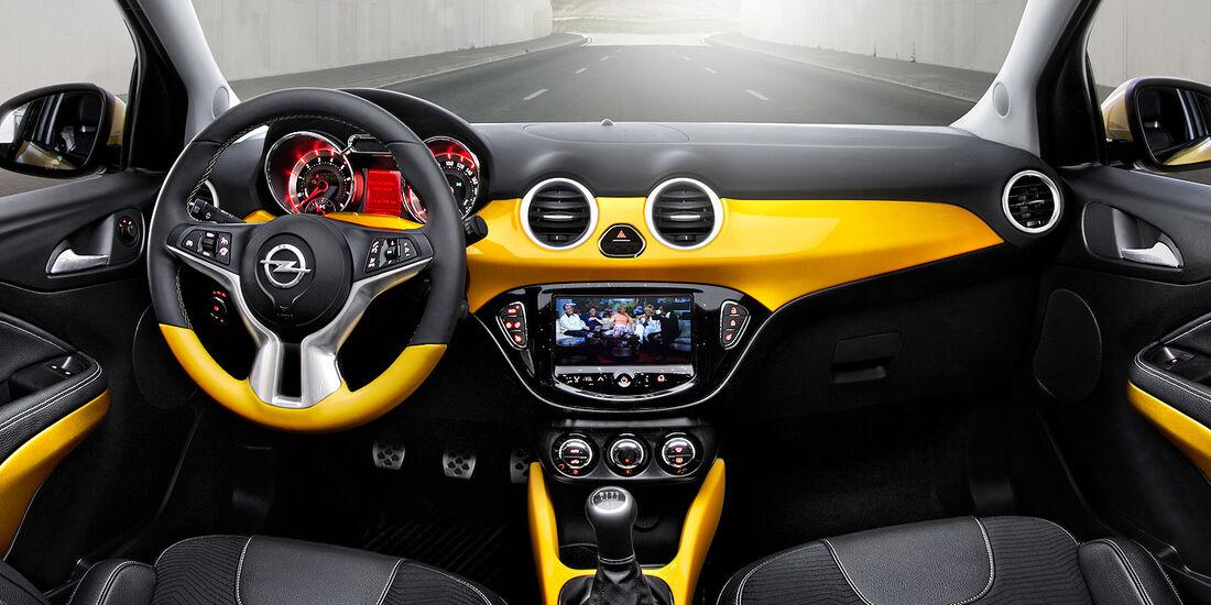 Opel Adam, Innenraum, Cockpit