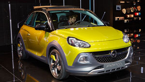Opel Adam Rocks, Genfer Autosalon, Messe 2014