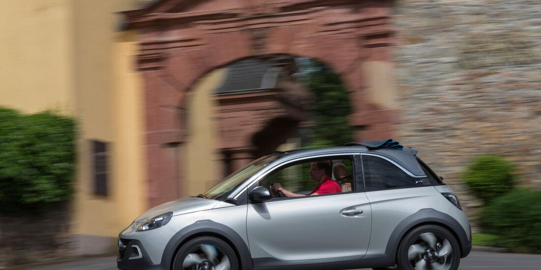 Opel Adam Rocks, Seitenansicht