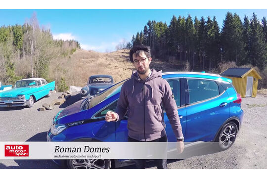 Opel Ampera-E im Video-Check, Roman Domes