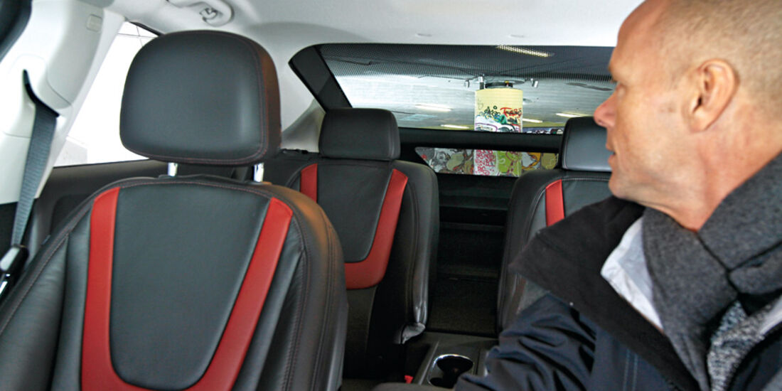 Opel Ampera, Innenraum, Sitze
