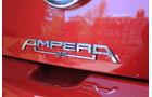 Opel Ampera, Schriftzug, Typenbezeichnung, Emblem