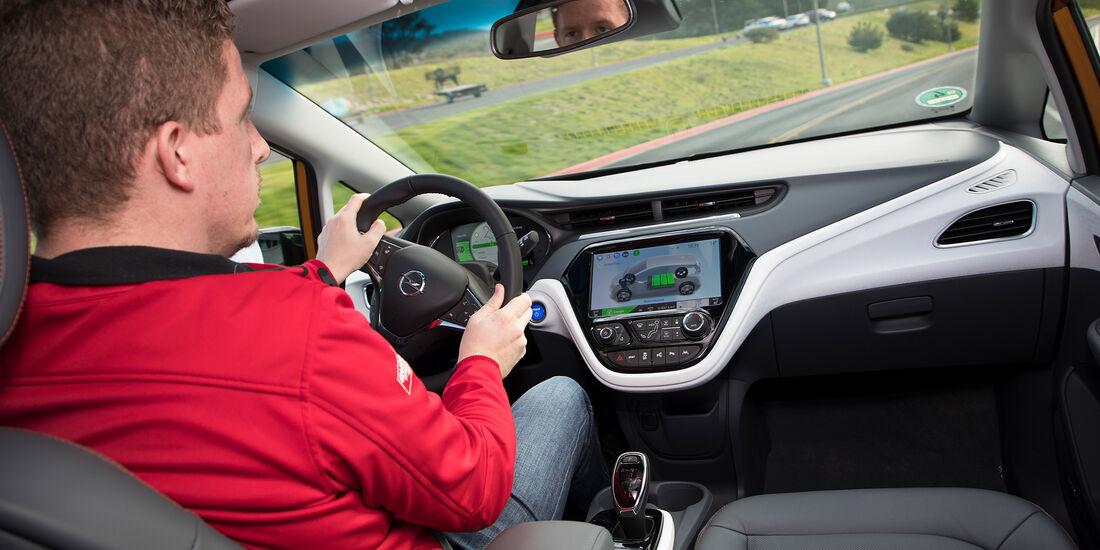 Opel Ampera-e Fahrbericht 2017