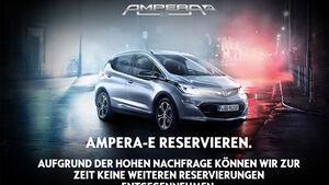 Opel Ampera-e Reservierungsstopp in Deutschland