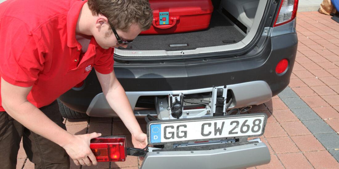 Opel Antara 2.2 CDTI Cosmo, Fahrradträger