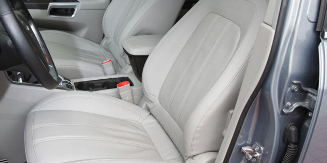 Opel Antara 2.2 CDTI Cosmo, Sitze