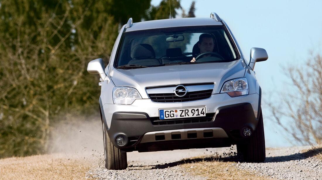 Opel Antara, Frontansicht