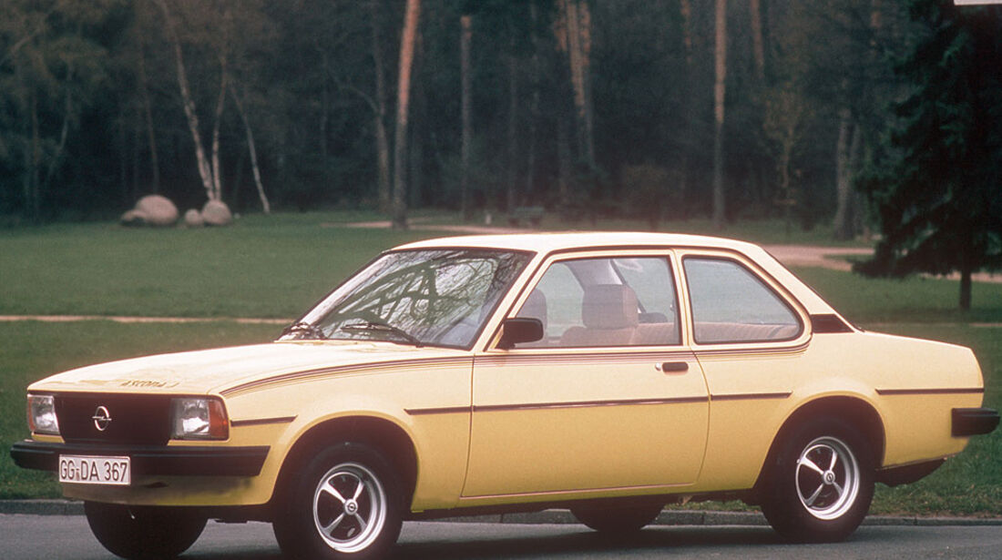 Opel Ascona B, J, 1975-1981