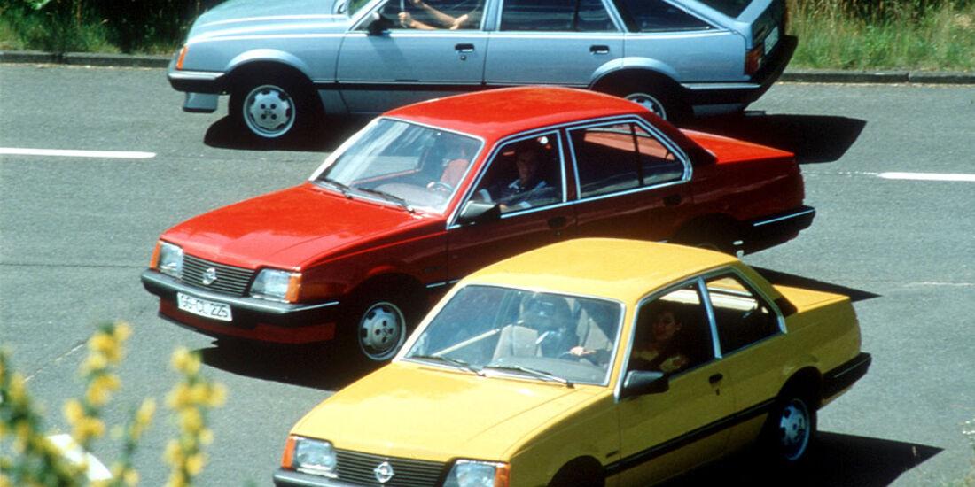 Opel Ascona C, 1981-1988