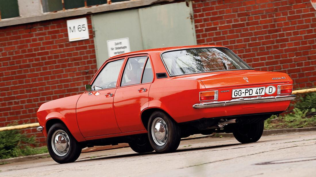 Opel Ascona, Seitenansicht