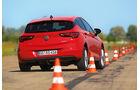 Opel Astra 1.0 Turbo, Heckansicht