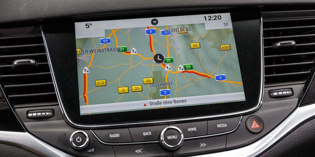 Opel Astra 1.4 DI Turbo, Navi