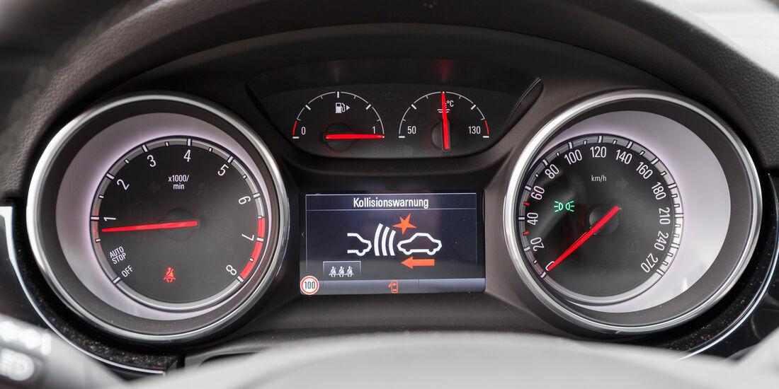 Opel Astra 1.4 DI Turbo, Rundinstrumente