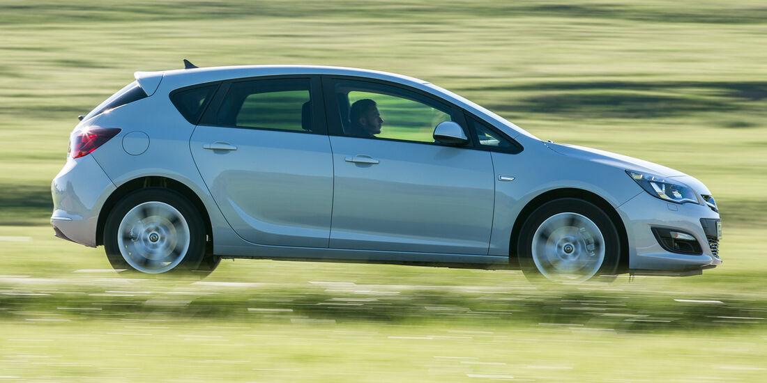 Opel Astra 1.6 CDTI, Seitenansicht