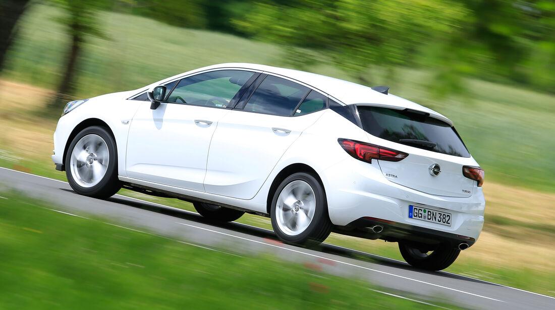 Opel Astra 1.6 DI Turbo, Seitenansicht