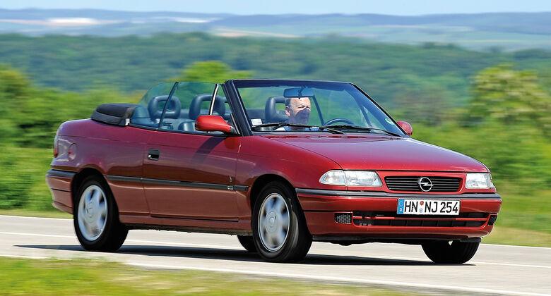 Opel Astra Cabrio, Frontansicht