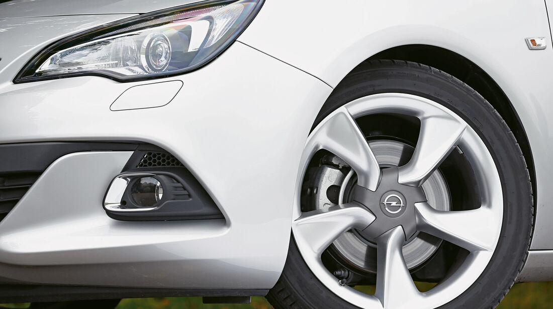 Opel Astra GTC Biturbo CDTI, Rad, Felge, Bremse