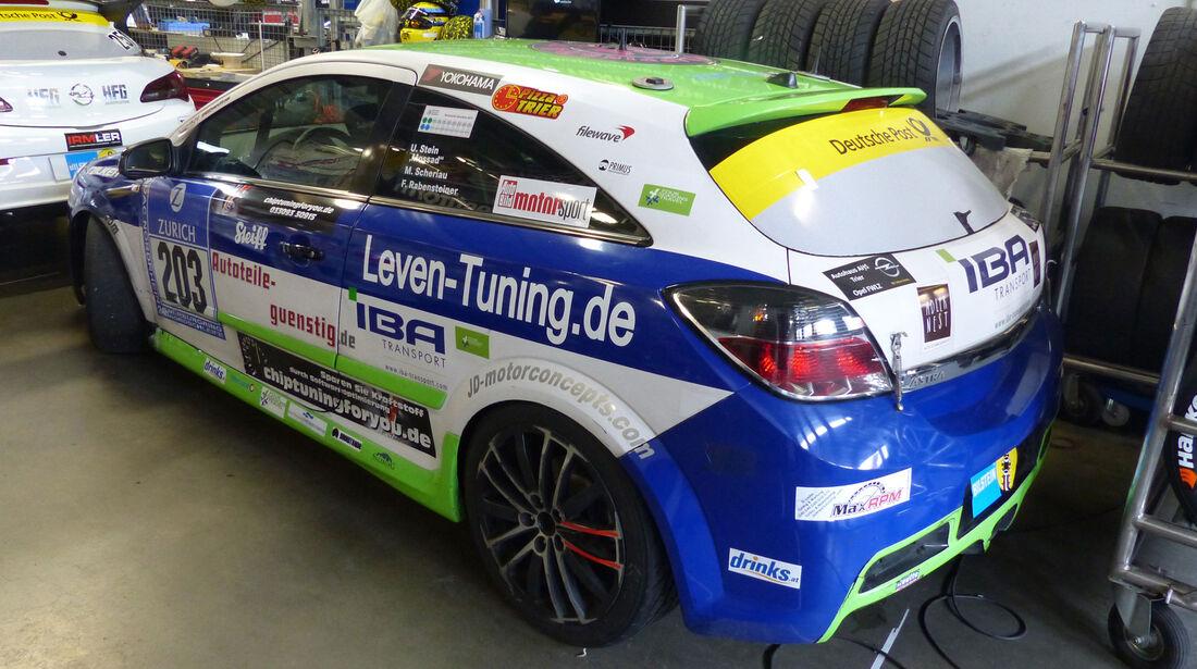 Opel Astra GTC OPC - Startnummer: #203 - Bewerber/Fahrer: Fritz Rabensteiner, Manuel Scheriau, Uwe Stein, Martin Kautenburger - Klasse: V2 T