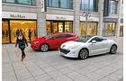 Opel Astra GTC, Peugeot RCZ