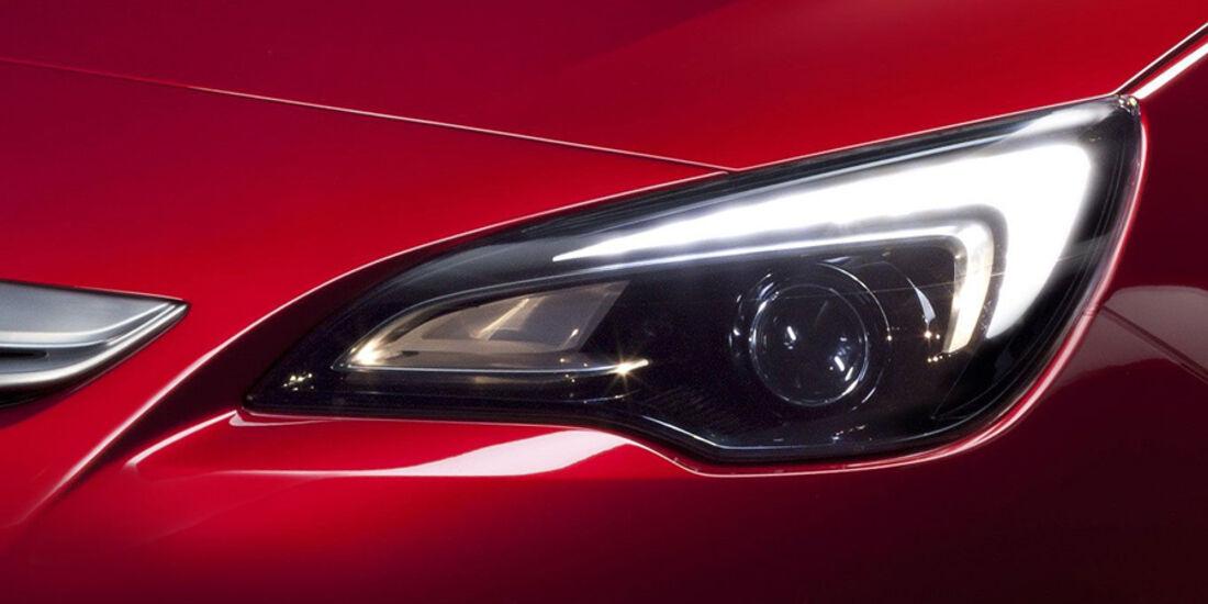 Opel Astra GTC, Scheinwerfer