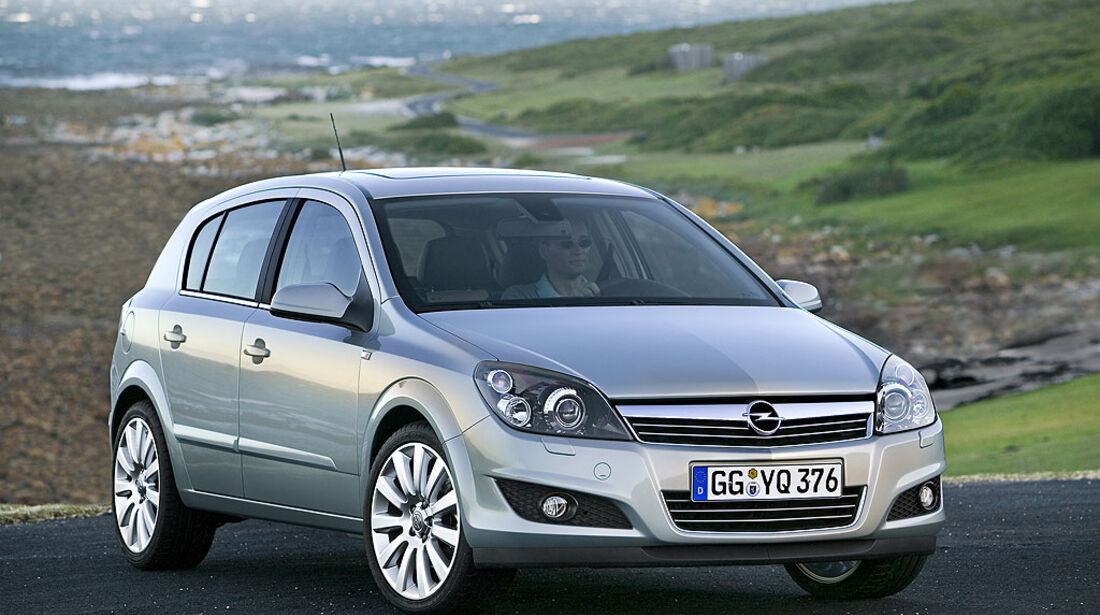 Opel Astra H, 2007