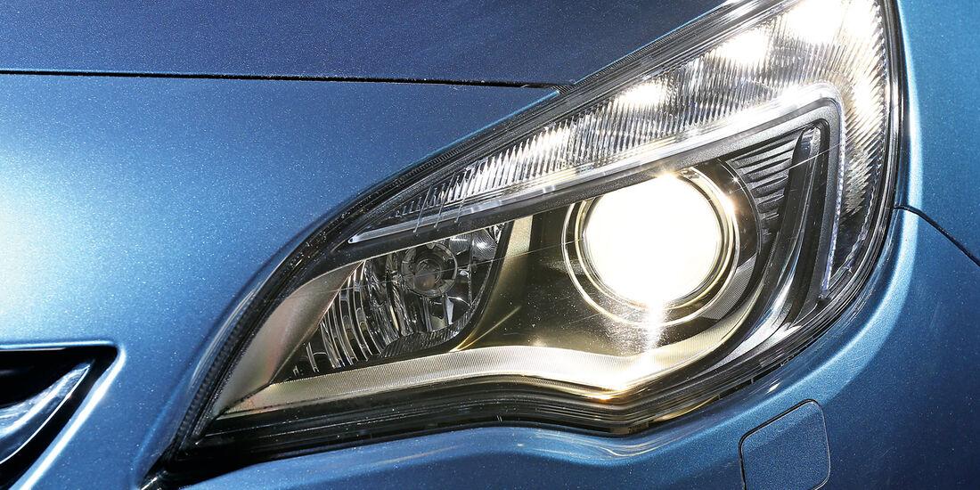 Opel Astra, Lichtsysteme