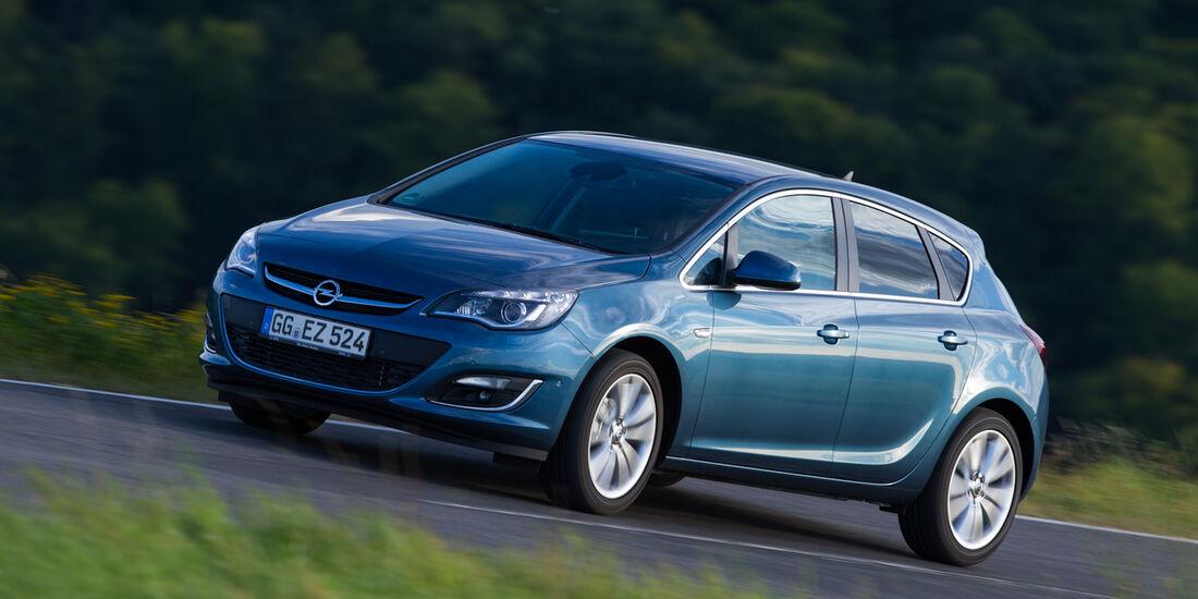 Opel Astra Limousine 1.7 CDTi Ecoflex Start/Stopp 99g Edition, Frontansicht