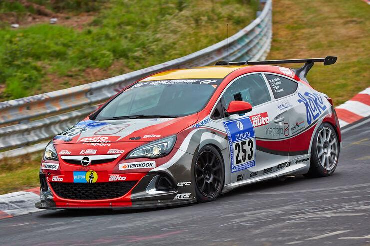 Opel Astra OPC Cup - Startnummer: #253 - Bewerber/Fahrer: Max Hackländer, Christian Gebhardt, Daniel Bohr, Pierre Humbert - Klasse: Cup 1