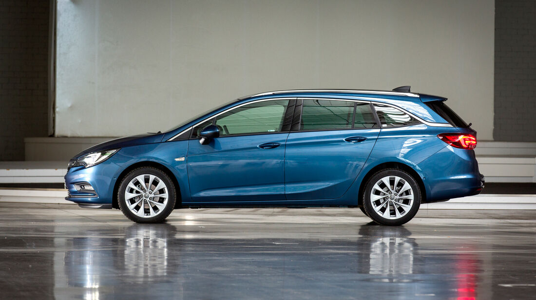 Opel Astra Sports Tourer 1.4 DI Turbo, Seitenansicht