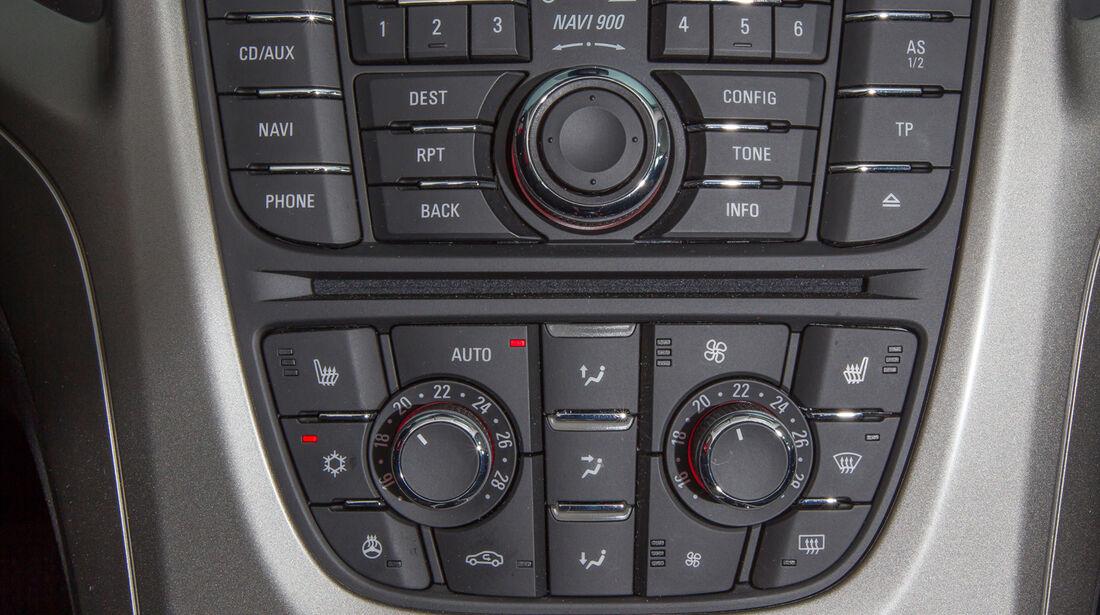 Opel Astra Sports Tourer 1.4 Turbo, Bedienelemente