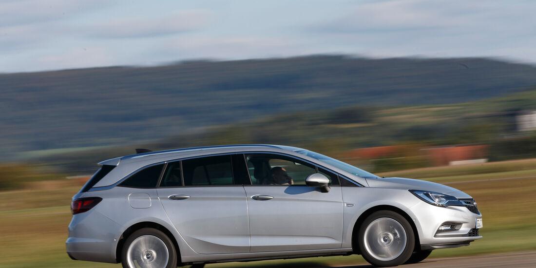 Opel Astra Sports Tourer 1.6 CDTI Ecoflex, Seitenansicht