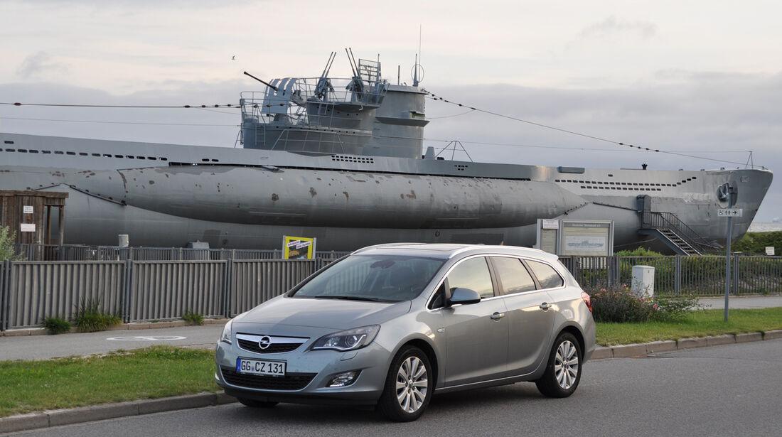 Opel Astra Sports Tourer 2.0 CDTi, U-Boot