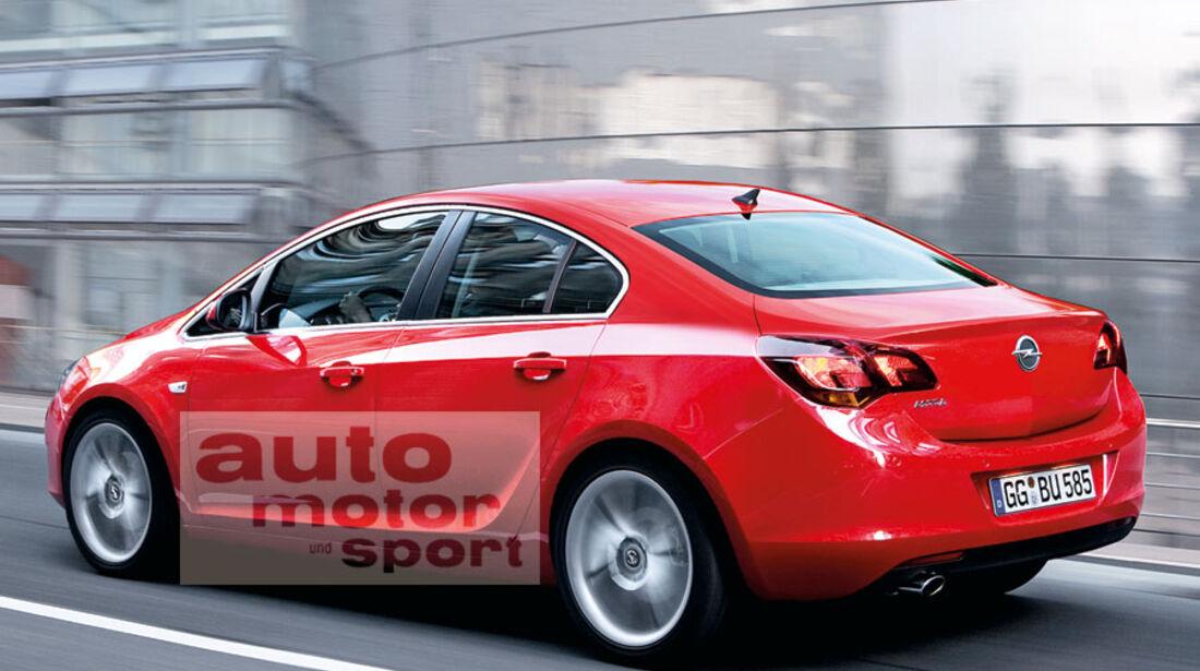 Opel Astra Stufenheck
