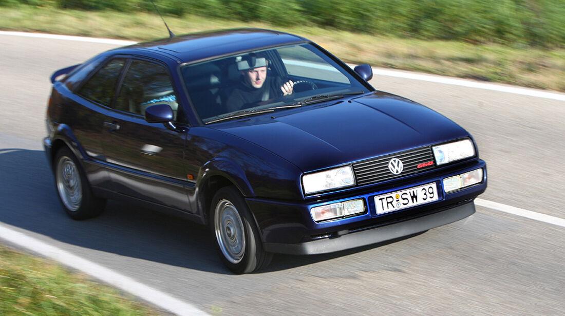 Opel Calibra 2.0 16V und VW Corrado G60