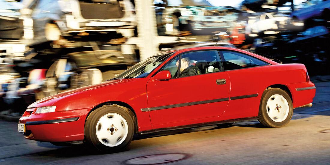Opel Calibra 2.0i, Seitenansicht