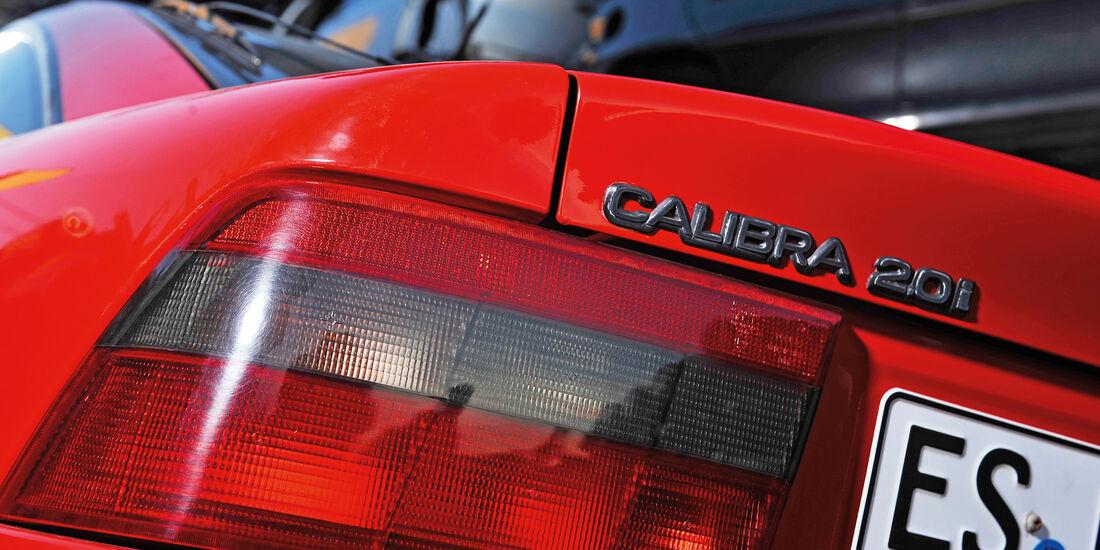 Opel Calibra 2.0i, Typenbezeichnung