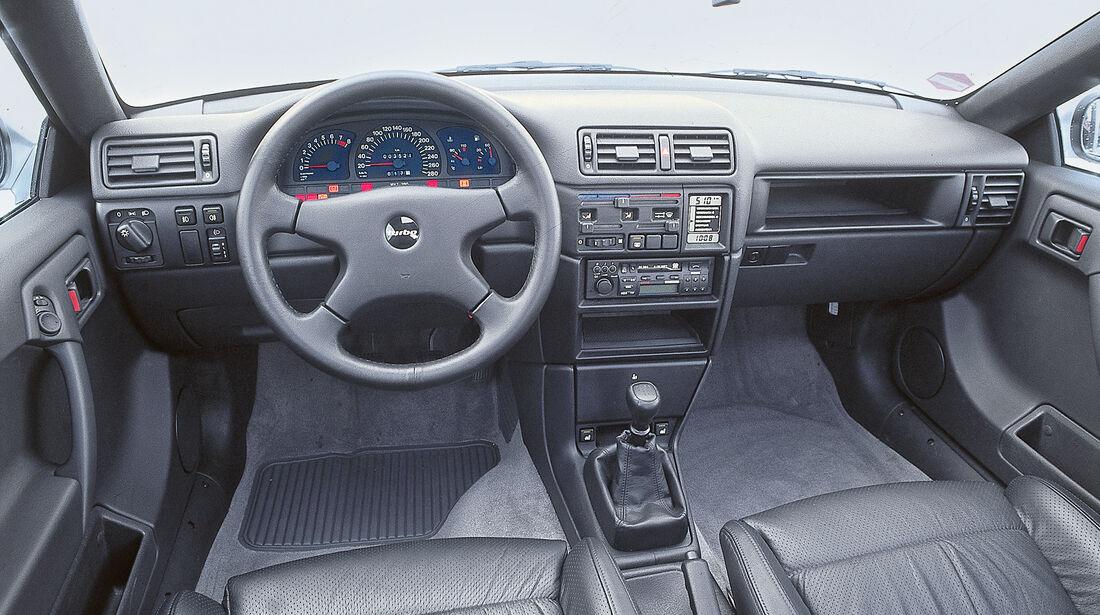 Opel Calibra, Cockpit