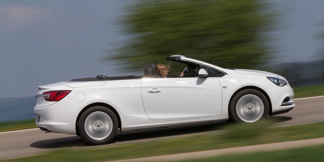 Opel Cascada 1.6 Ecotec Turbo, Seitenansicht