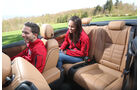 Opel Cascada 1.6 SIDI Turbo, Rücksitz, Beinfreiheit