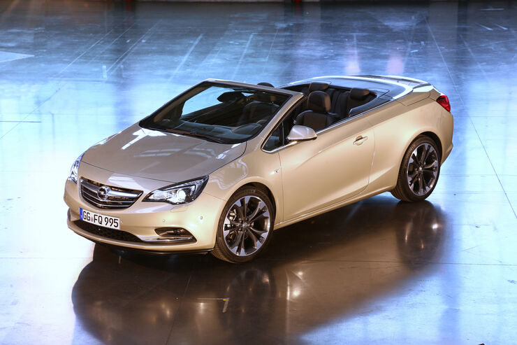 Opel cascade der astra ffnet sich auto motor und sport for Motor para cascada