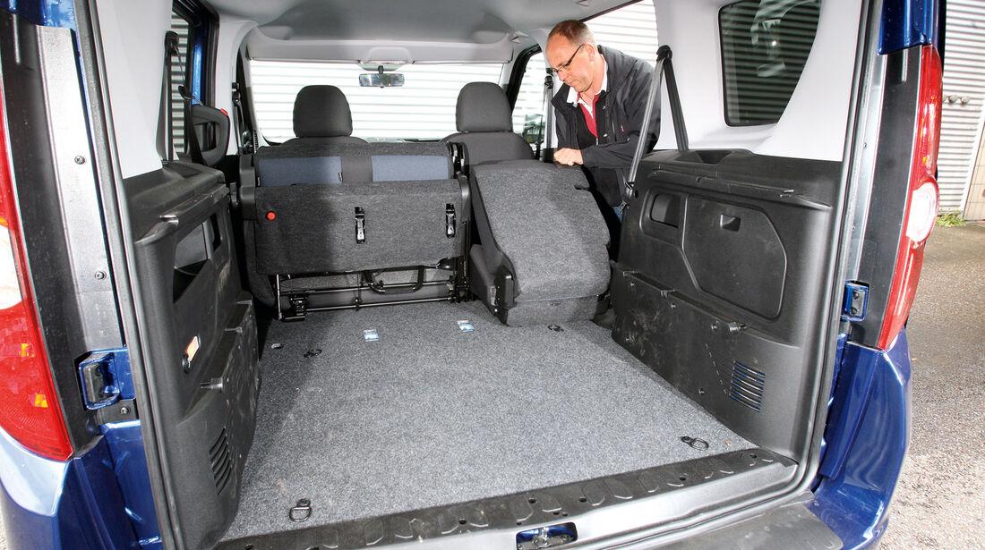 Opel Combo 1.4 Turbo CNG, Sitz umklappen, Ladefläche
