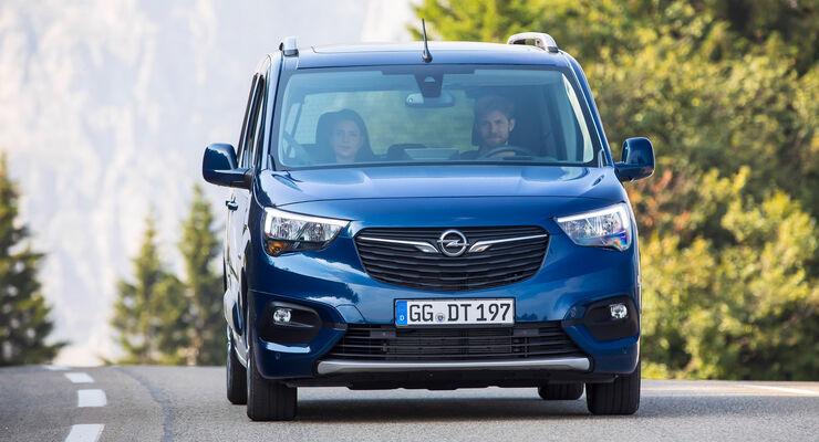 Opel Combo Fahrbericht 2018