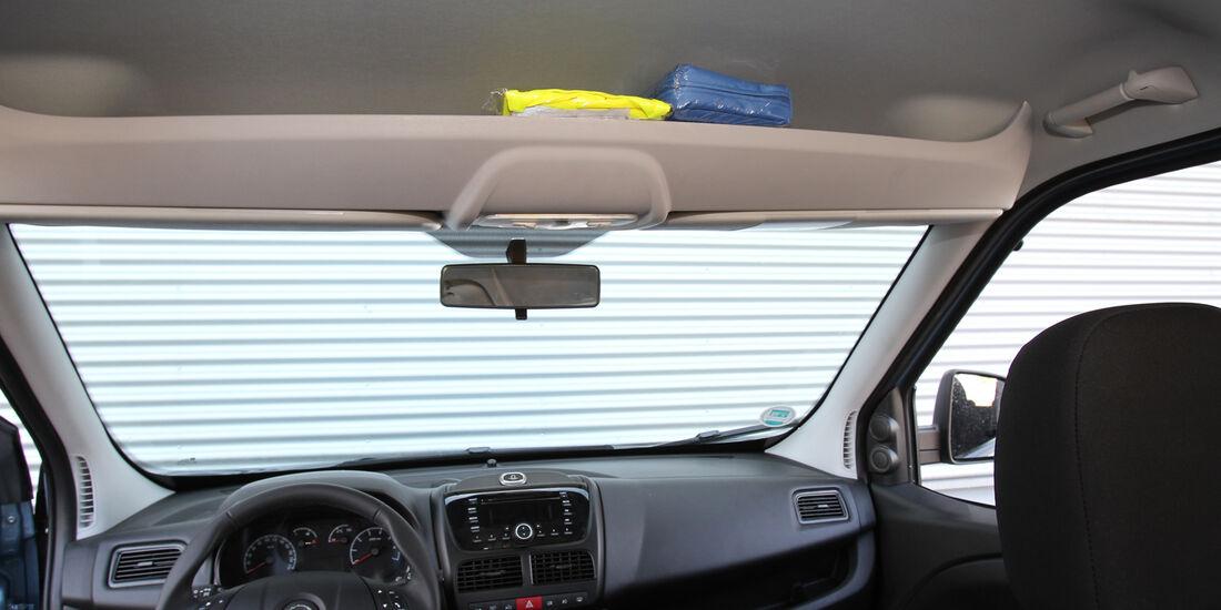 Opel Combo, Frontscheibe