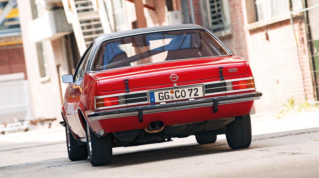 Opel Commodore, Heck