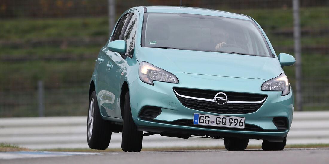 Opel Corsa 1.0 Turbo, Frontansicht