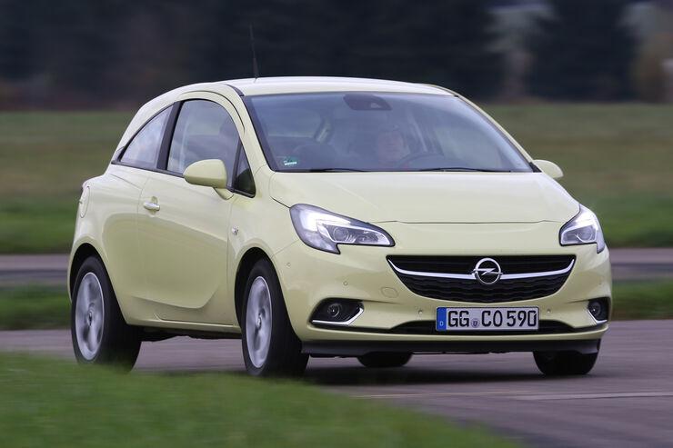 Opel Corsa 1.3 CDTI, Frontansicht