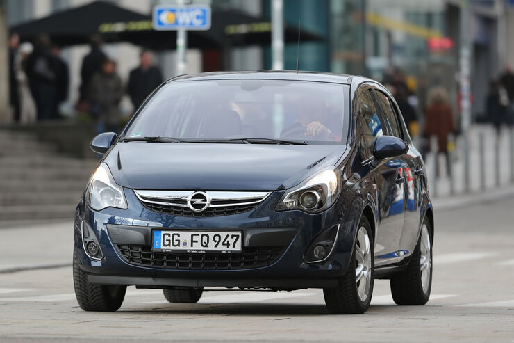 Opel Corsa 1.4 Innovation, Frontansicht